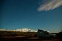 Daniel attend les aurores. C'est la pleine lune au pied du Snaefellsjökull ce 5 octobre à 21h36