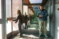 Vos deux reporters à la tour Vista de Punta del Este (attrappe-touriste)