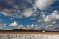 Ciel immense au petit matin au pied du Cône de Arita