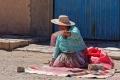 Villa Alota dans le Nord Lipez : préparation de la quinoa pour les semailles prévues pour le lendemain