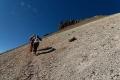 Marion et notre guide, Macario, à l'assaut du Volcan Uturuncu (6020 m)