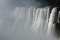 La Gorge du Diable aux Chutes d'Iguazú, vue sur le Brésil