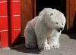 Un ours polaire en peluche