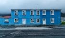 Une maison bleue