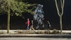 Street art à Johannesburg, quartier de Maboneng; oeuvre de Nelson Makamo