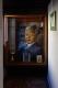 Portrait de Nelson Mandela. Soweto