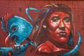 Peinture de Anser à Braamfontein, Johannesburg