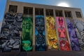 Murale de Zesta et de Mein, Braamfontein, Johannesburg