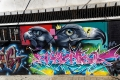 Sous le regard des rapaces : Street art dans le quartier de Maboneng, Johannesburg