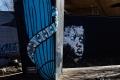 Street art dans le quartier de Maboneng, Johannesburg, oeuvre de Nelson Makamo