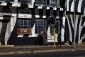 Street art dans le quartier de Maboneng, Johannesburg
