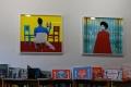 Librairie d'art dans Arts on Main, quartier de Maboneng, Johannesburg