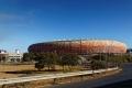 Stade près de Soweto construit pour la coupe du monde en 2010. Il peut accueillir 90 000 personnes. C'est le plus grand d'Afrique