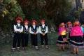 Danseurs à la fête de la Laguna Parón