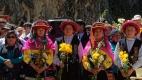 Bouquets qui vont être offerts à l'Eau