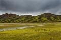 Paysages sur la route de notre bivouac du Landmannalaugar
