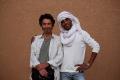 Daniel et jeune marocain au rire irrésistible