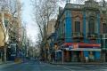 Montevideo : beaucoup d'immeubles sont peints avec des contrastes surprenants mais plaisants