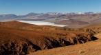 Au fond, la  Mina La Casualidad  sur les berges du Salar de Rio Grande