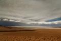 Coulée de lave entre le Salar d'Arizaro et celui de Rio Grande