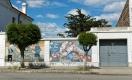 Murales dans les rues de Puerto Deseado : hommage aux pêcheurs.