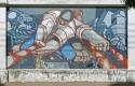 Hommage aux pécheurs : reproduction d'une peinture de Ricardo Carpani