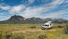 Petit déjeuner dans le  Parc National Perito Moreno en Patagonie argentine