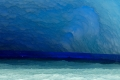 Etonnantes couleurs d'un iceberg du glacier Upsala