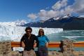 Autoportrait en compagnie du glacier Perito Moreno