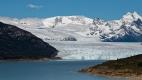 Glacier Perito Moreno vu de la route venant de El Calafate