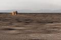 Campo de Piedra Pómez : premières roches,  tour de guet