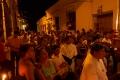 Les Momposois suivent la Procession du Mardi Saint