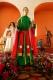 Jeudi Saint au temple San Francisco : la plateforme de sainte Véronique