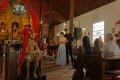 Concert de musique : extraits d'opéras de Mozart, chantés en espagnol, dans le Temple Santa Barbara le jeudi saint