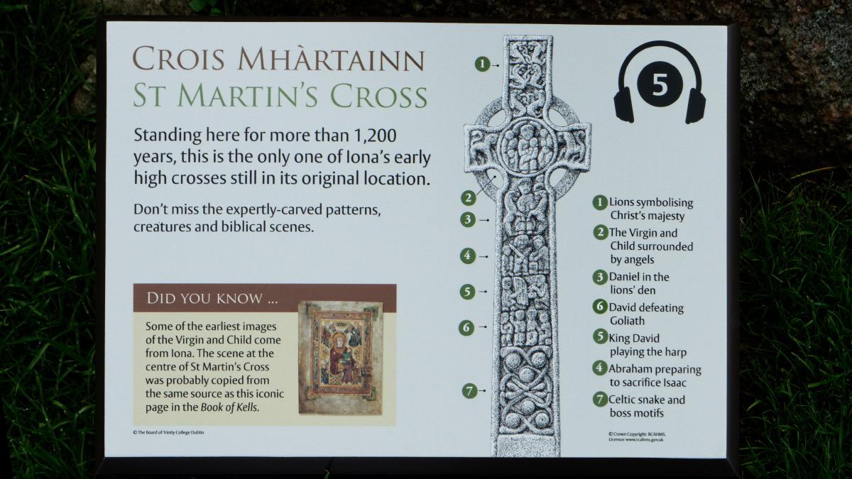 Reproduction de la Croix de Saint-Martin