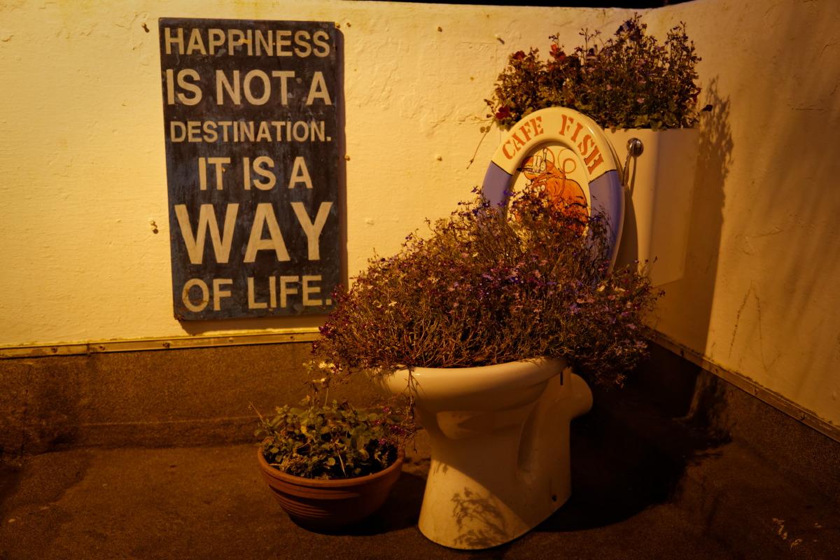 Le bonheur n'est pas un but, mais un style de vie