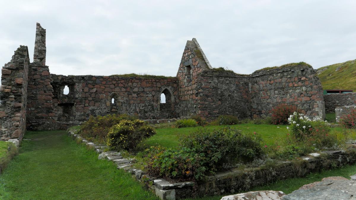 Ruines de la Nunnery - Abbaye de Iona